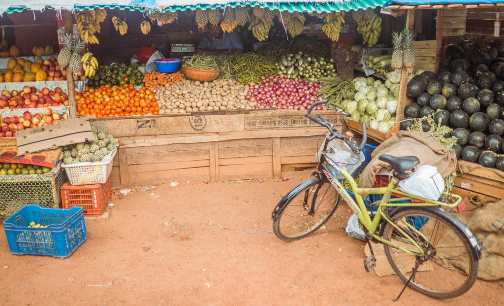 Farebný trh v Goi