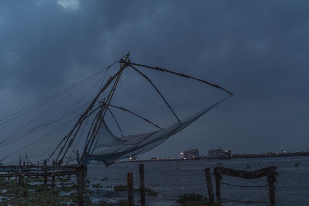 Čínske rybárske siete