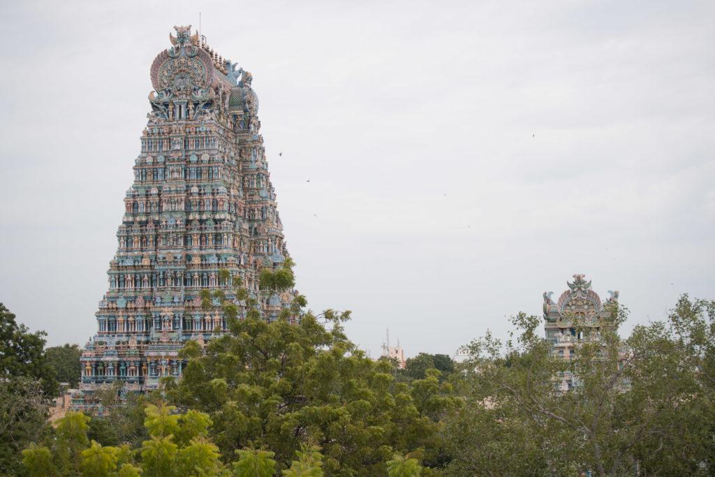 Chrám v meste Madurai