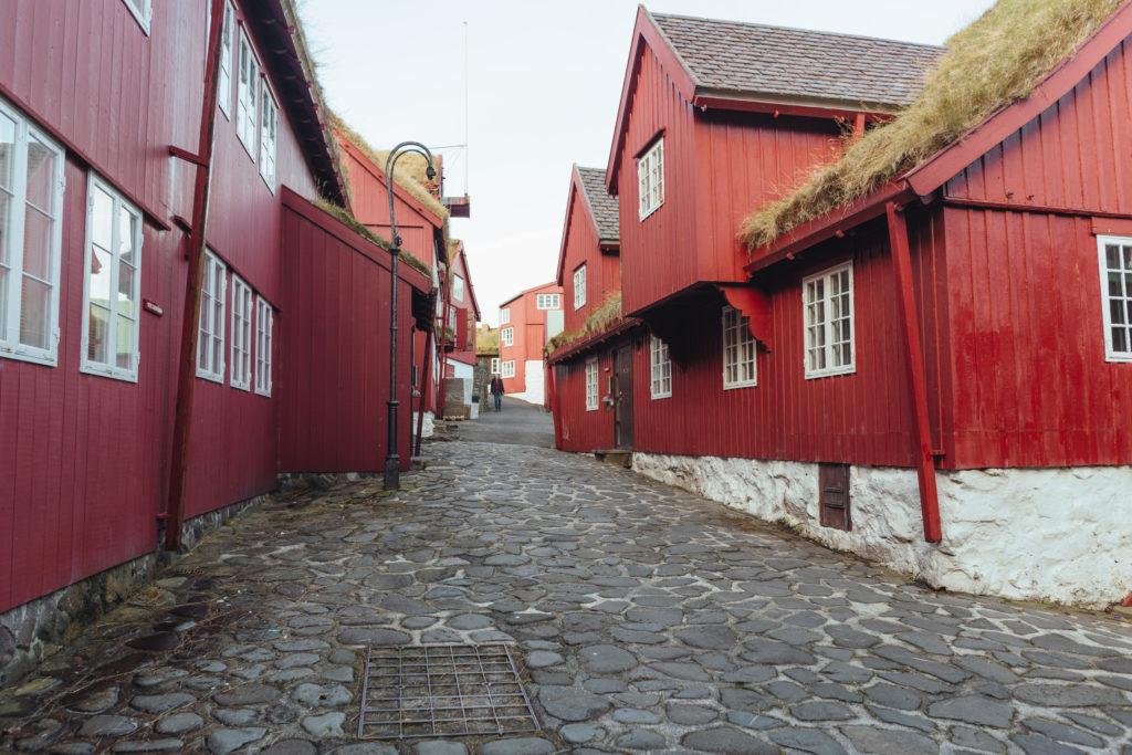 Faerské ostrovy - hlavné mesto Thorshavn