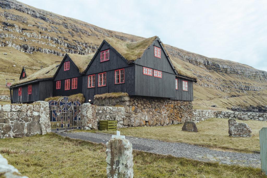 Faerské ostrovy - najstaršia obývaná drevenica na svete