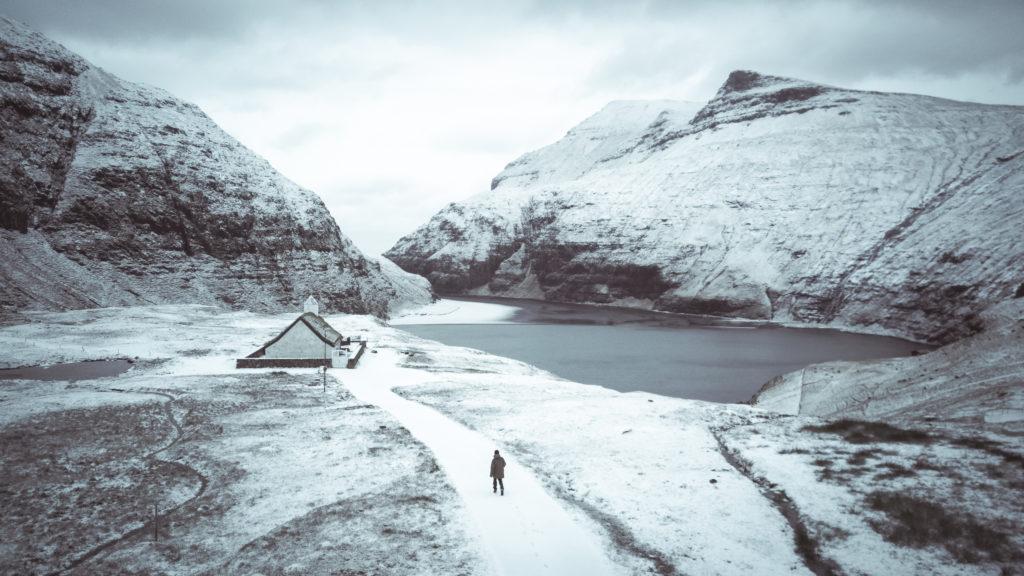 Faerské ostrovy - najkrajšia dedinka Saksun