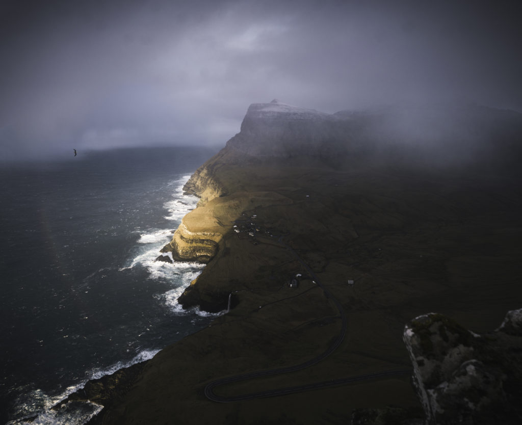Faerské ostrovy - dedinka Gásadalur