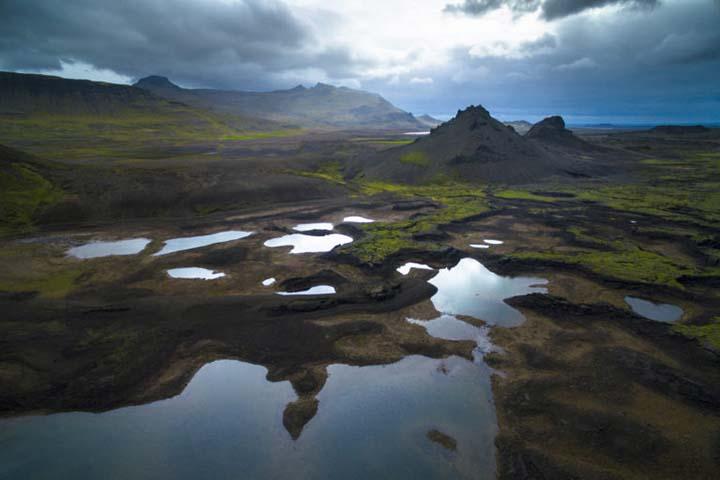 Island: opustené miesta