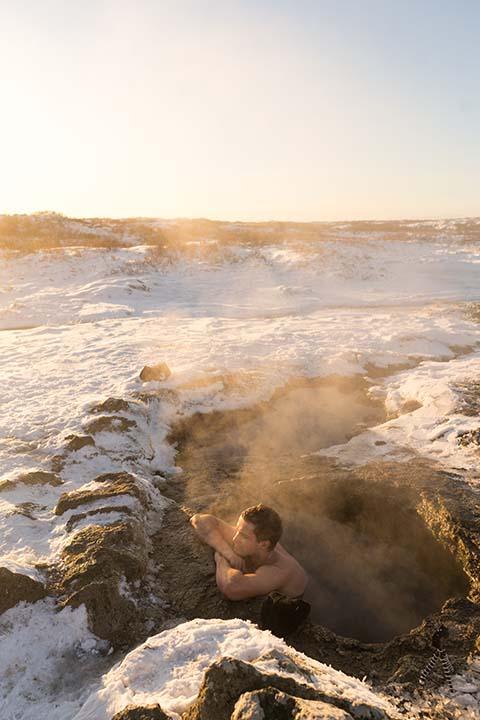 Island: horúce pramene