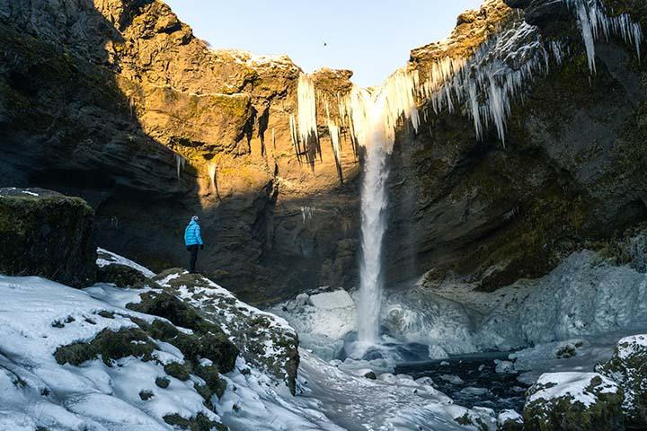 Island: gejzír Strokkur