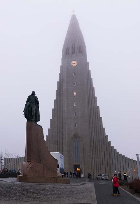 Island: Hallgrímskirkja, najvyššia budova mesta