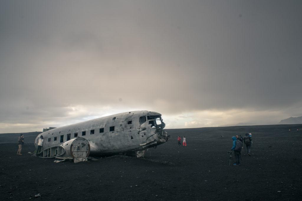 Vrak amerického lietadla
