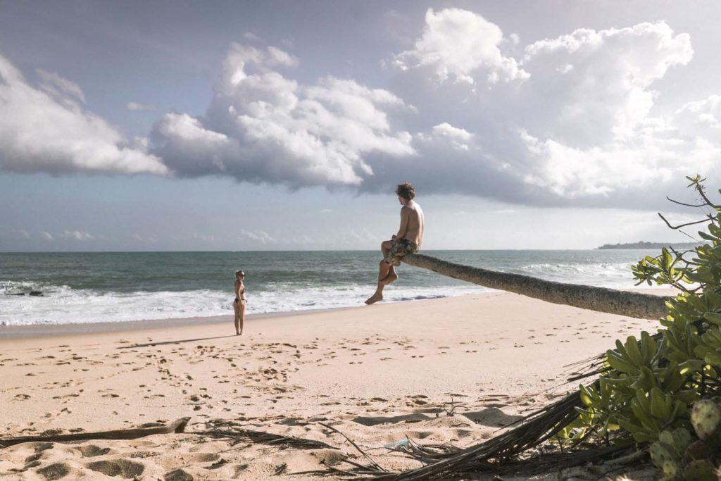 Tangalla - relax na pláži