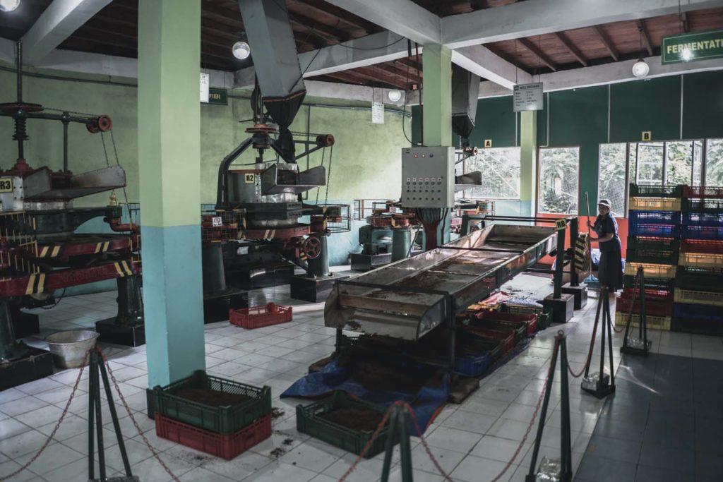 Rodinná fabrika na výrobu čaj