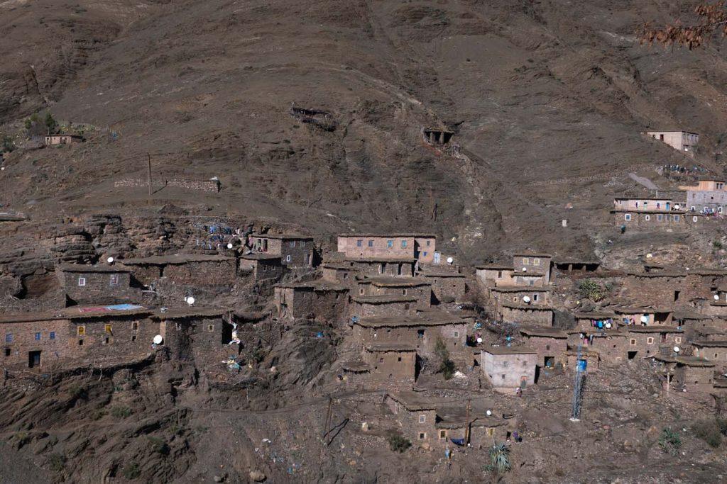 Dedinky v pohorí Atlas