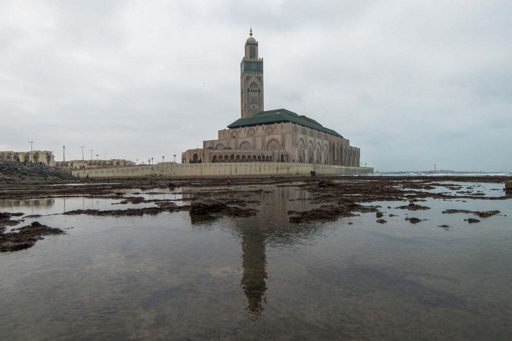 Casablanca - mešita Hassana II.