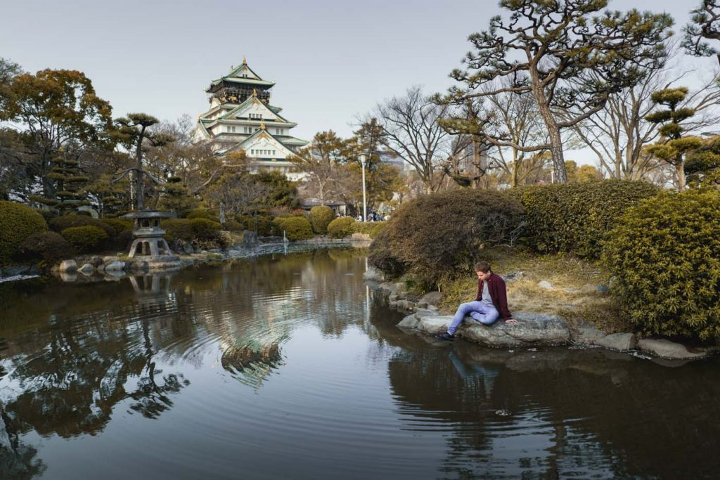 Park pod Osaka Castle