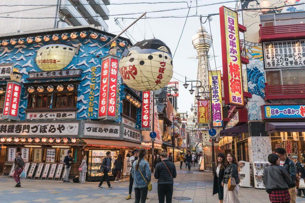 Štvrť Shinsekai