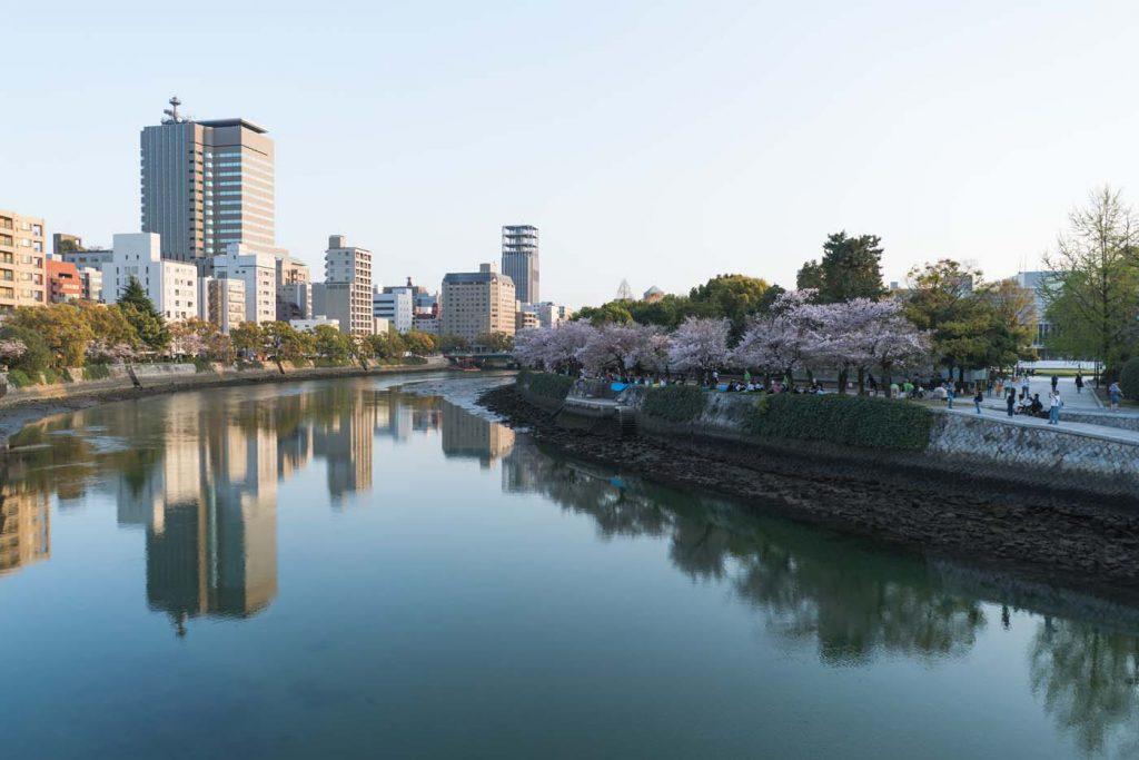 Hiroshima - pokojné a čisté mesto