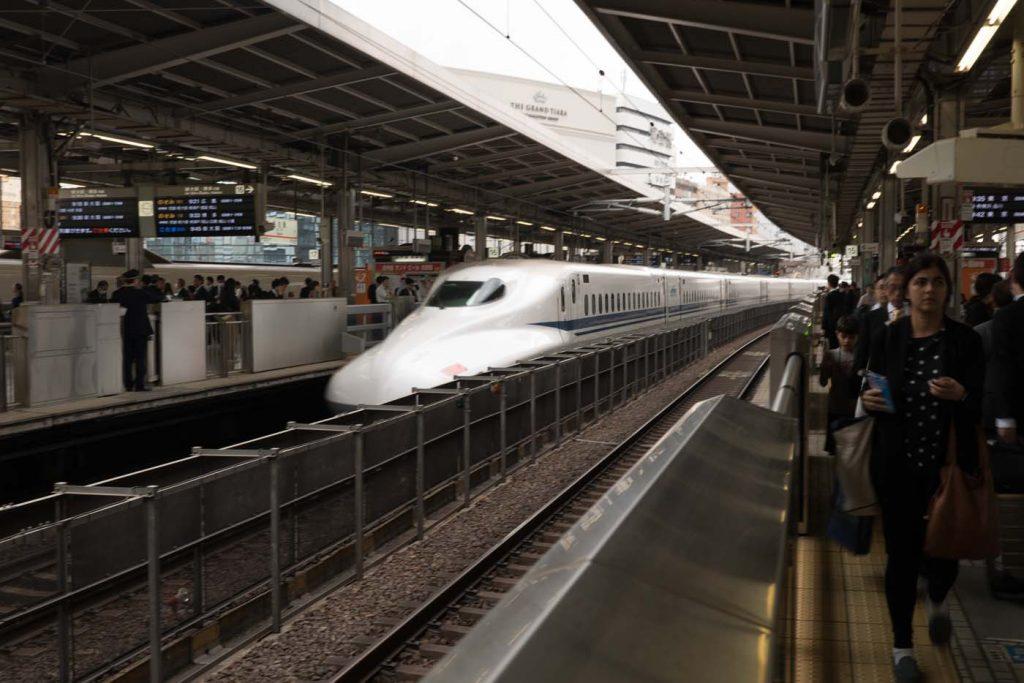 Japonská železničná doprava