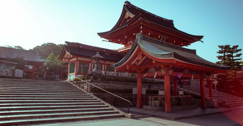 Chrámové mesto Kyoto