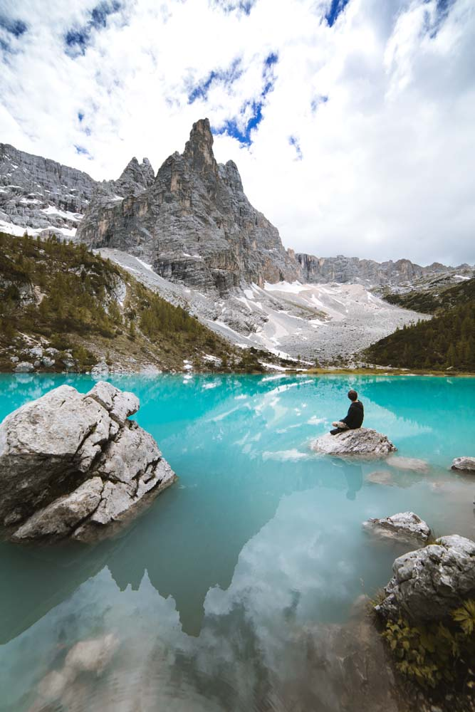 Jazero Lago di Sorapis
