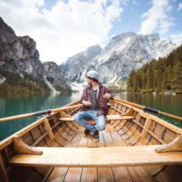 Požičovňa člnov na Lago di Braises
