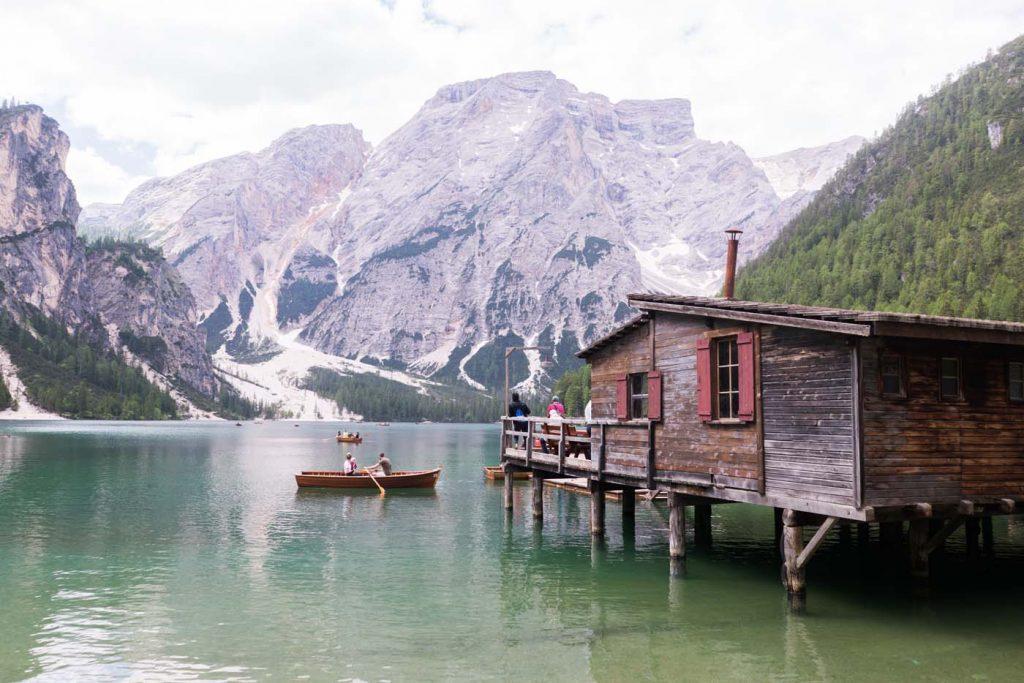 Jazero Lago di Braises
