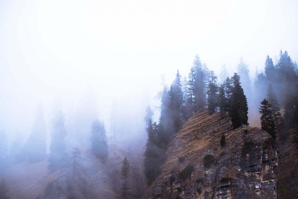 Hmla v Dolomitoch