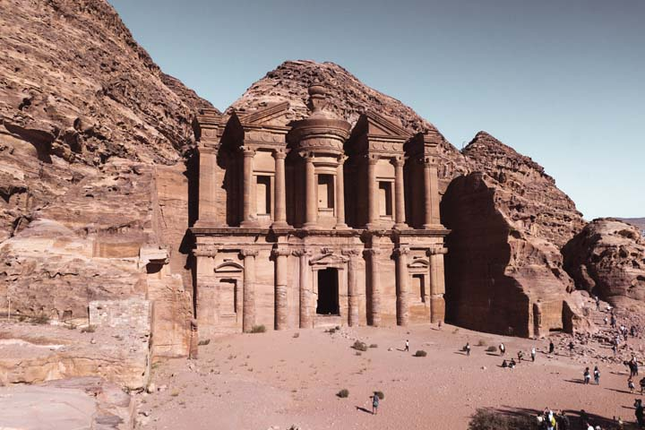 Jordánsko - Monastery v Petre