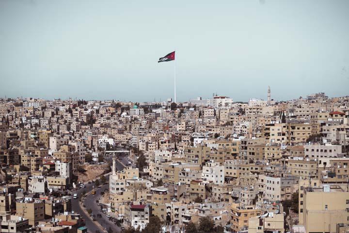 Vlajka Jordánska