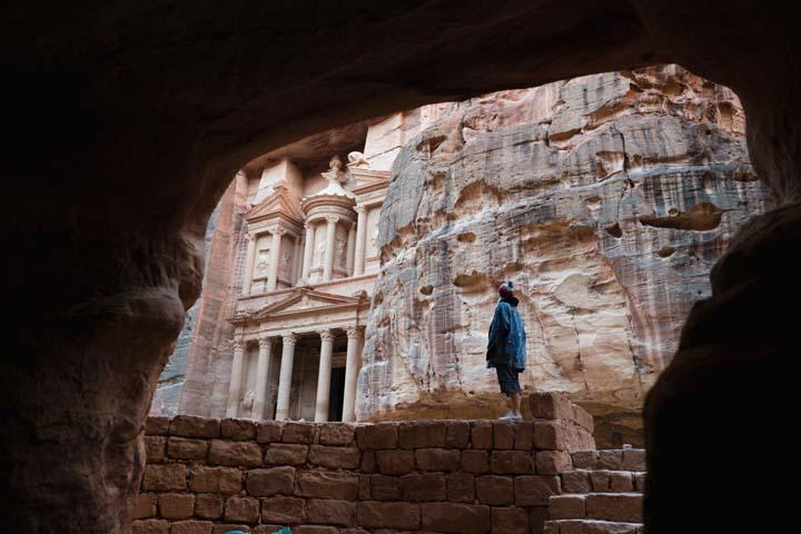Jordánsko - Pokladnica v meste Petra
