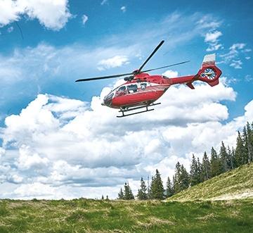 Zásah Horskej záchrannej služby