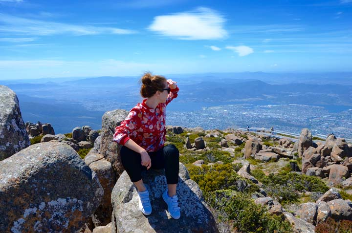 Anna na Mount Wellington