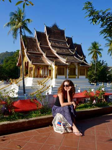 Luang si Aničku podmanil svojimi krásami
