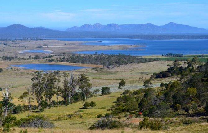 Nedotknutá tasmánska príroda