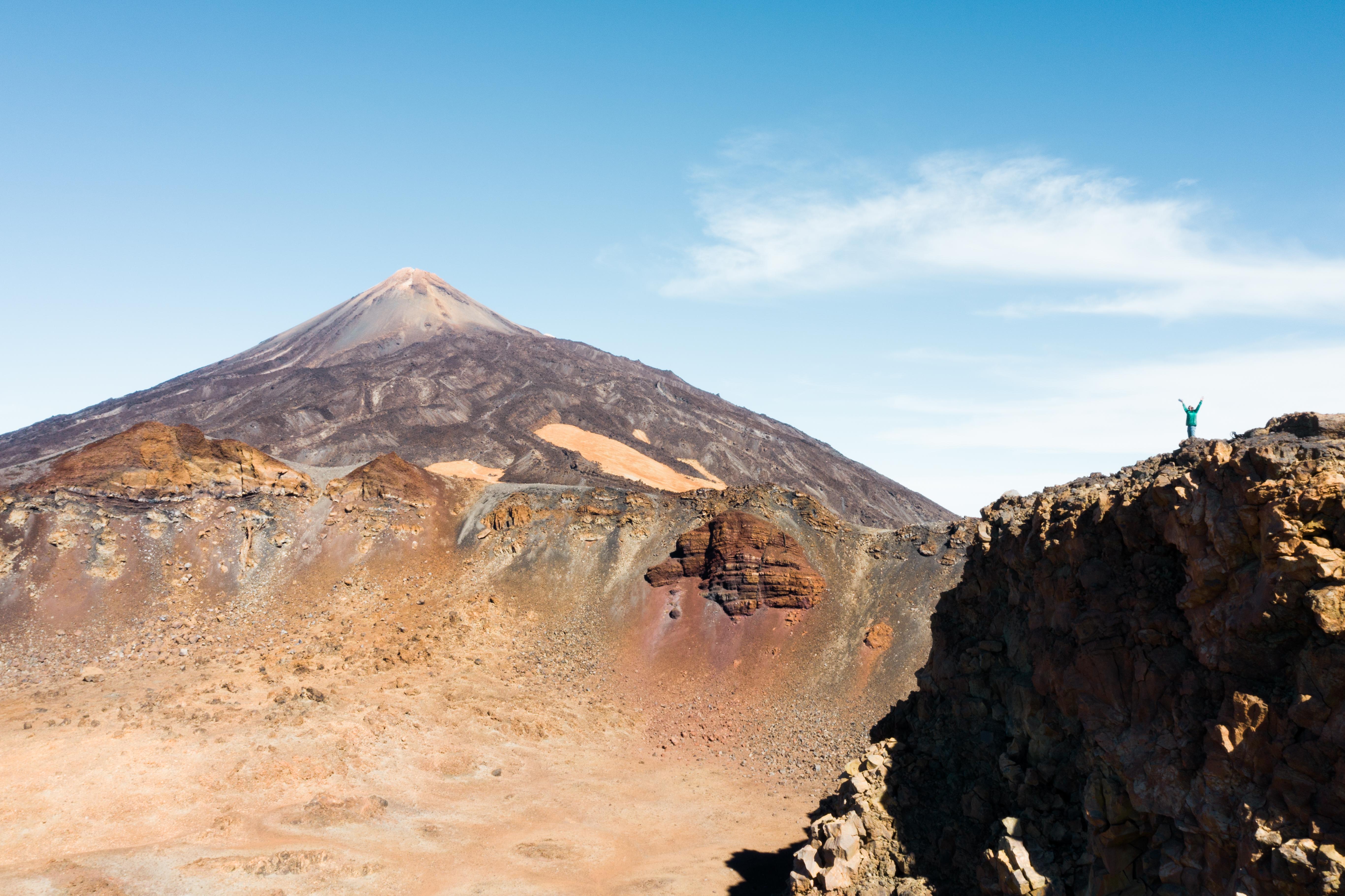 Výstup na Pico del Teide