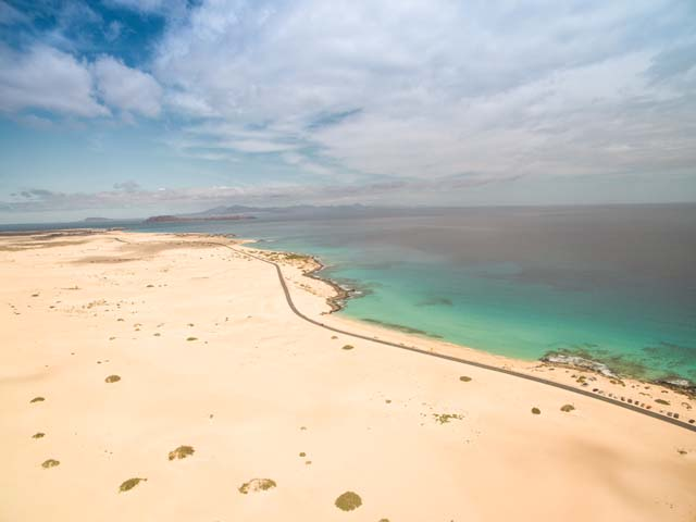 Pieskové duny Corralejo