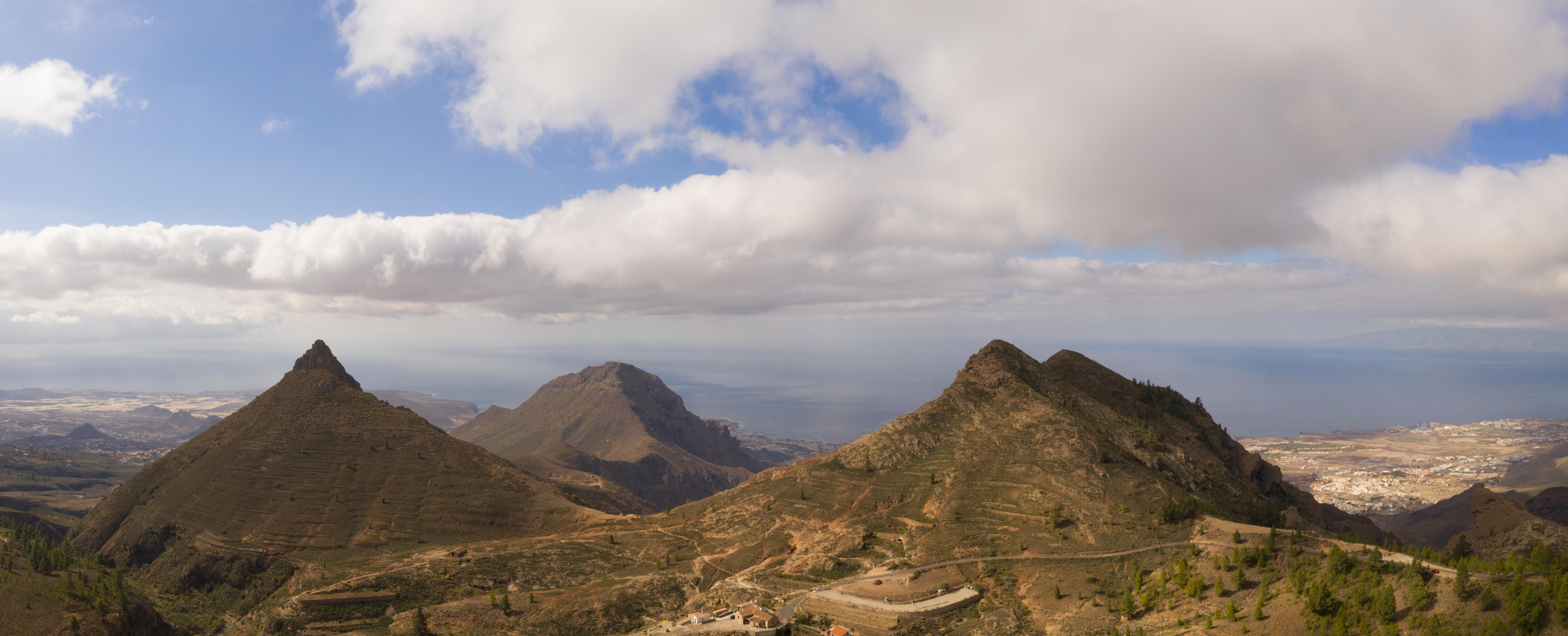 Hornatý ostrov Tenerife
