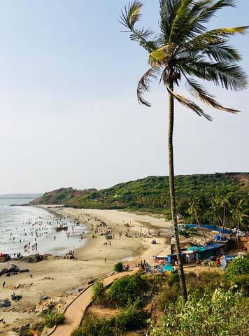 Tie najkrajšie miesta na Goa nájdete hneď pri pobreží.