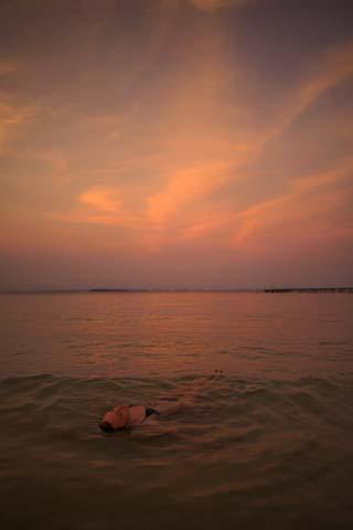 Svetielkujúci planktón na Koh Rong