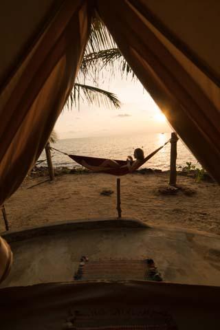 Ubytovanie na ostrove Koh Rong Sanloem