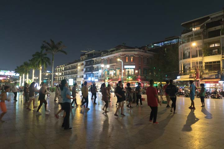 Nábrežie v Phnom Phene