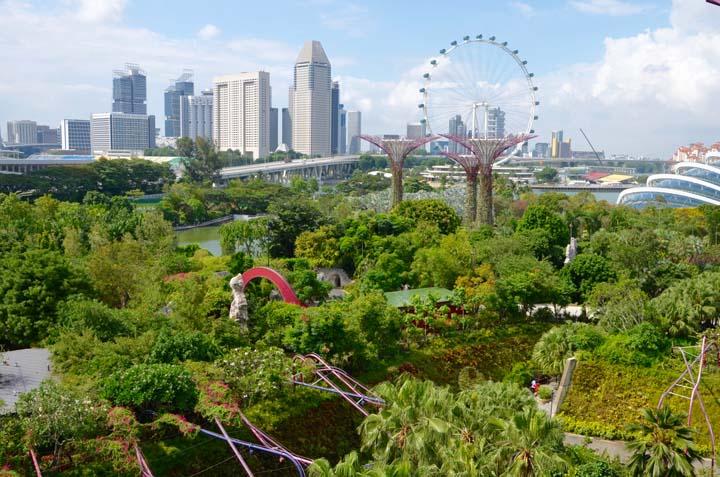 Singapore Flyer, najvyššie vyhliadkové koleso na svete.