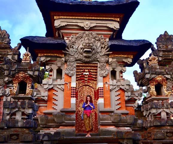 Chrám na Bali - Ubud.