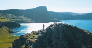 Škótsko: Neist Point Lighthouse