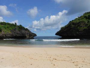 Yogyakarta plná skrytých pláží