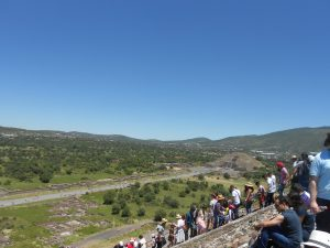 Na Teotihuacán, ktorý skrášľuje Mexiko si pripravte kondíciu aj nervy.