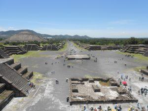 Komplex Teotihuacán je najnavštevovanejším archeologickým náleziskom , charakteristickým pre Mexiko.