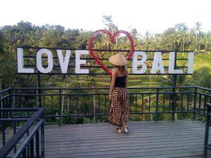 Bali, obľúbená destinácia turistov.