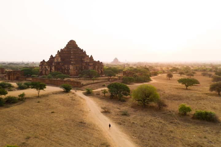 Dhammayangyi pagoda je najväčším chrámom na území Baganu.
