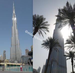 Najvyššia budova sveta v Dubaji.