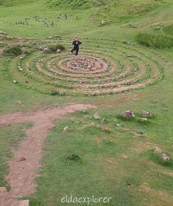 Škótsko: The Fairy Glen, malý Hobbitov