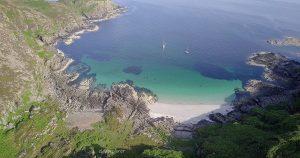 Škótsko: Rubha Shlèite (Sandy Beach)